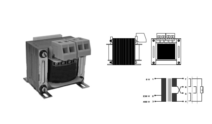 Isolating and control transformers