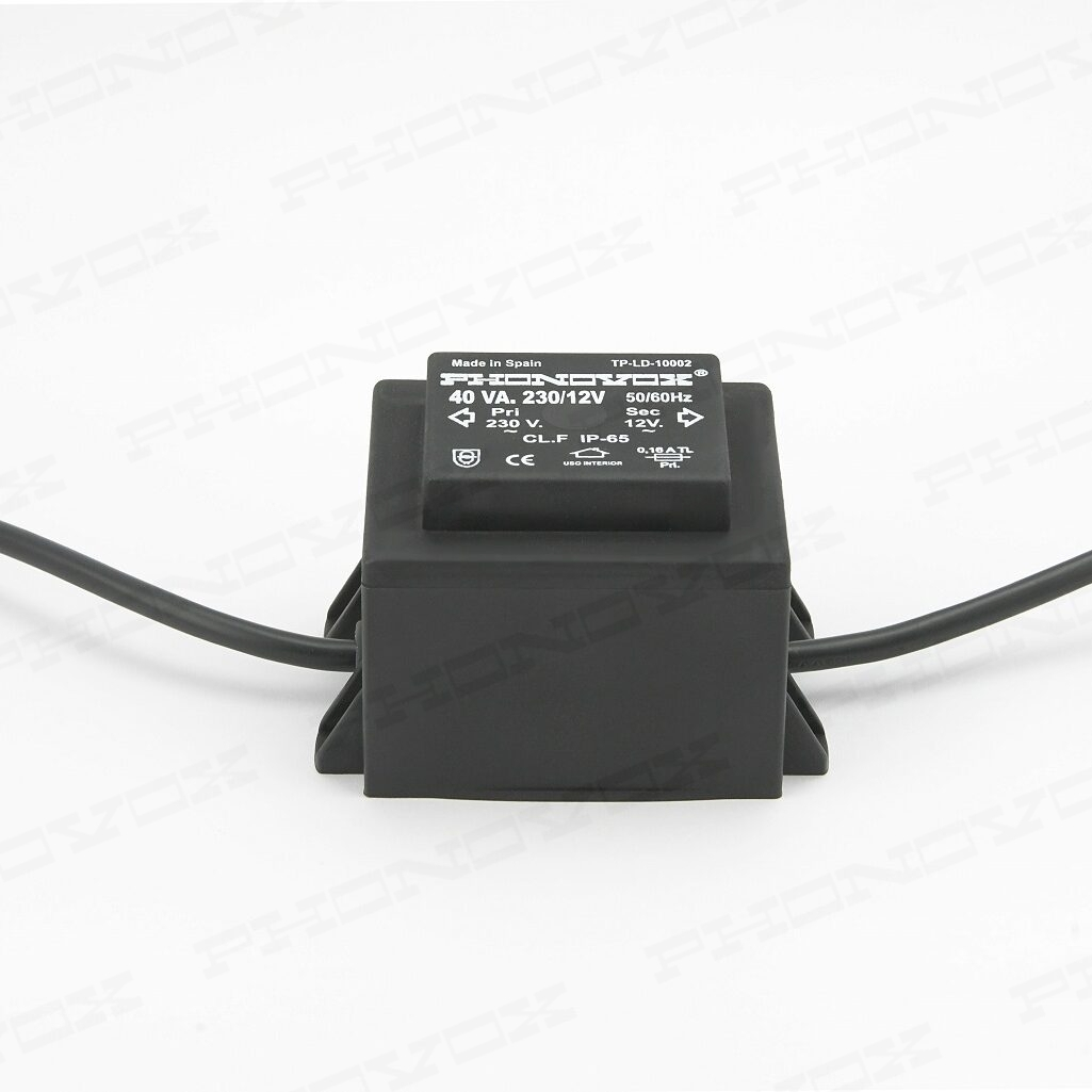 Safety Transformer for swimming pool lighting for leds IP-65